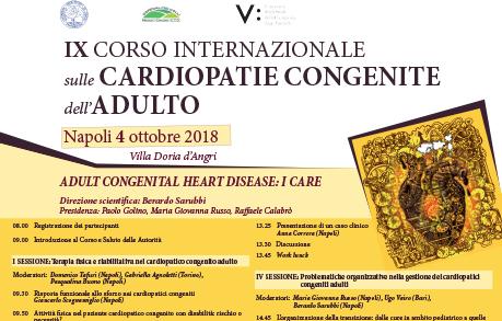 IX CORSO CARDIOPATIE CONGENITE DELL'ADULTO PER PERSONALE MEDICO