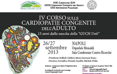 locandina IV corso GUCH 2013